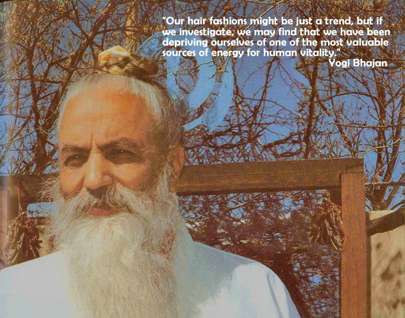Les cheveux et les yogis