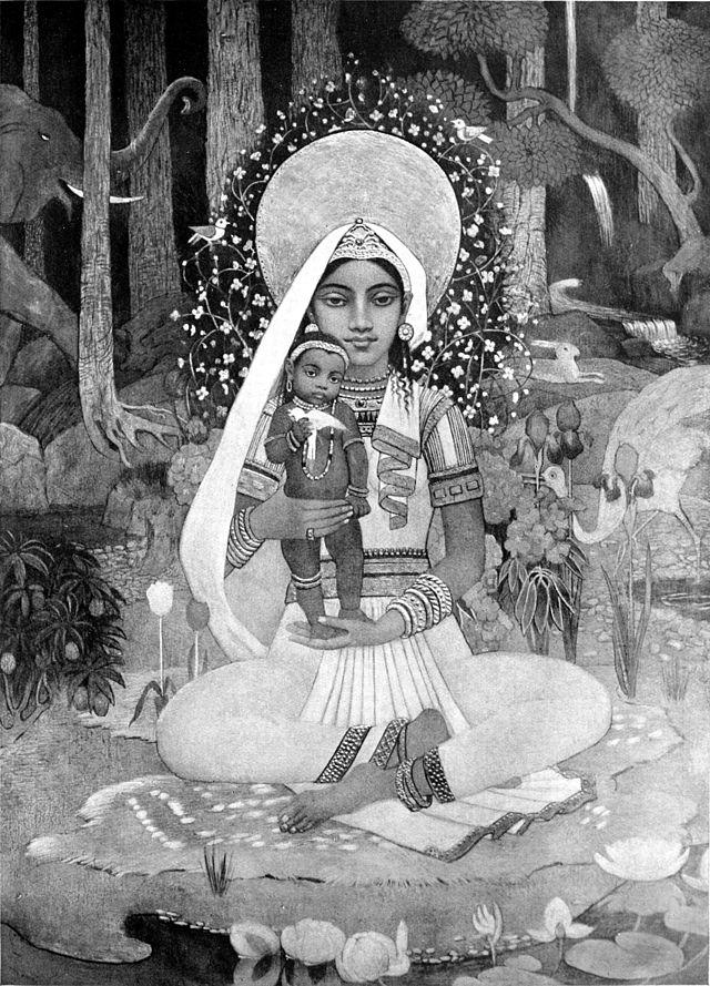 Devaki-mere de Krishna