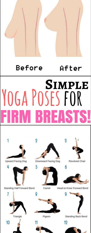 De beaux seins grâce au yoga